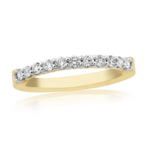 Yellow Gold Diamond | Eternity Ring | DR1309